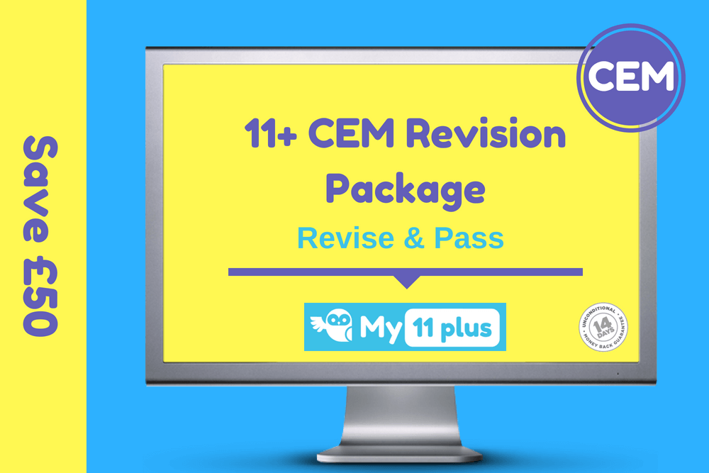 11 Plus GL exam revision package