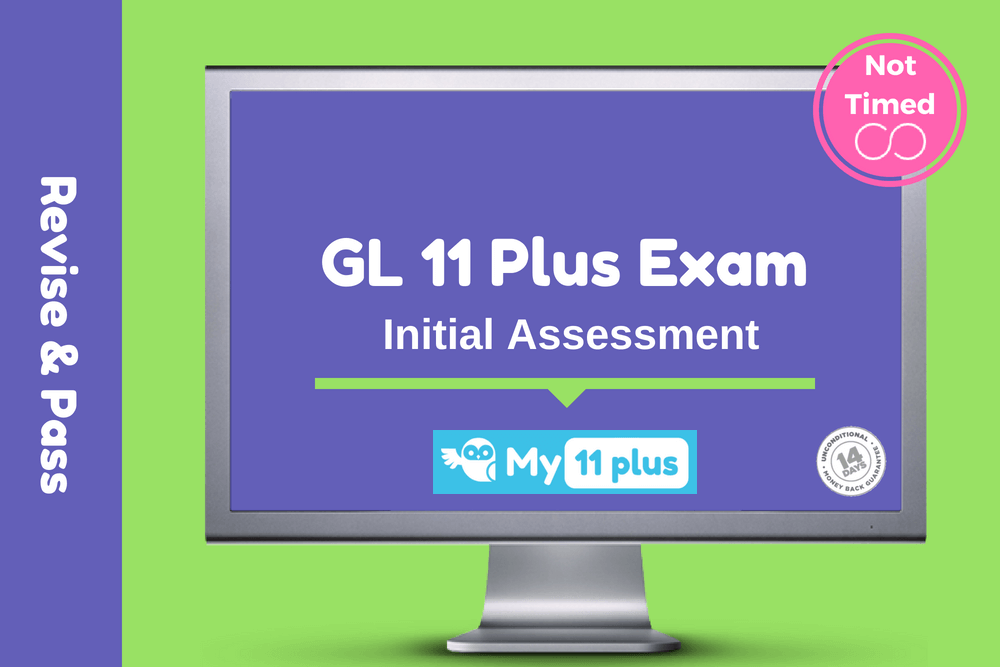 11 Plus For GL Test – Initial Assessment – 2020 Edition