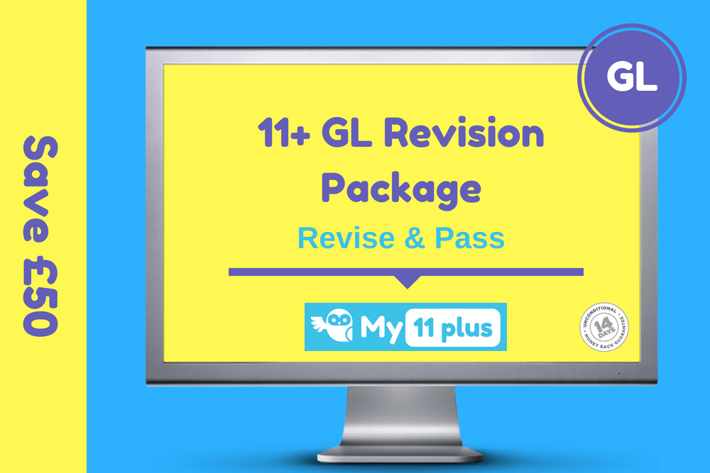 11+ exam GL revision package
