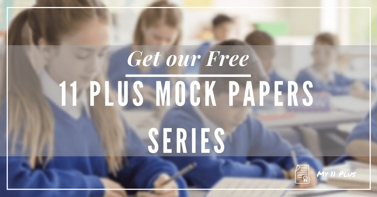 11 plus exam free mock papers 1