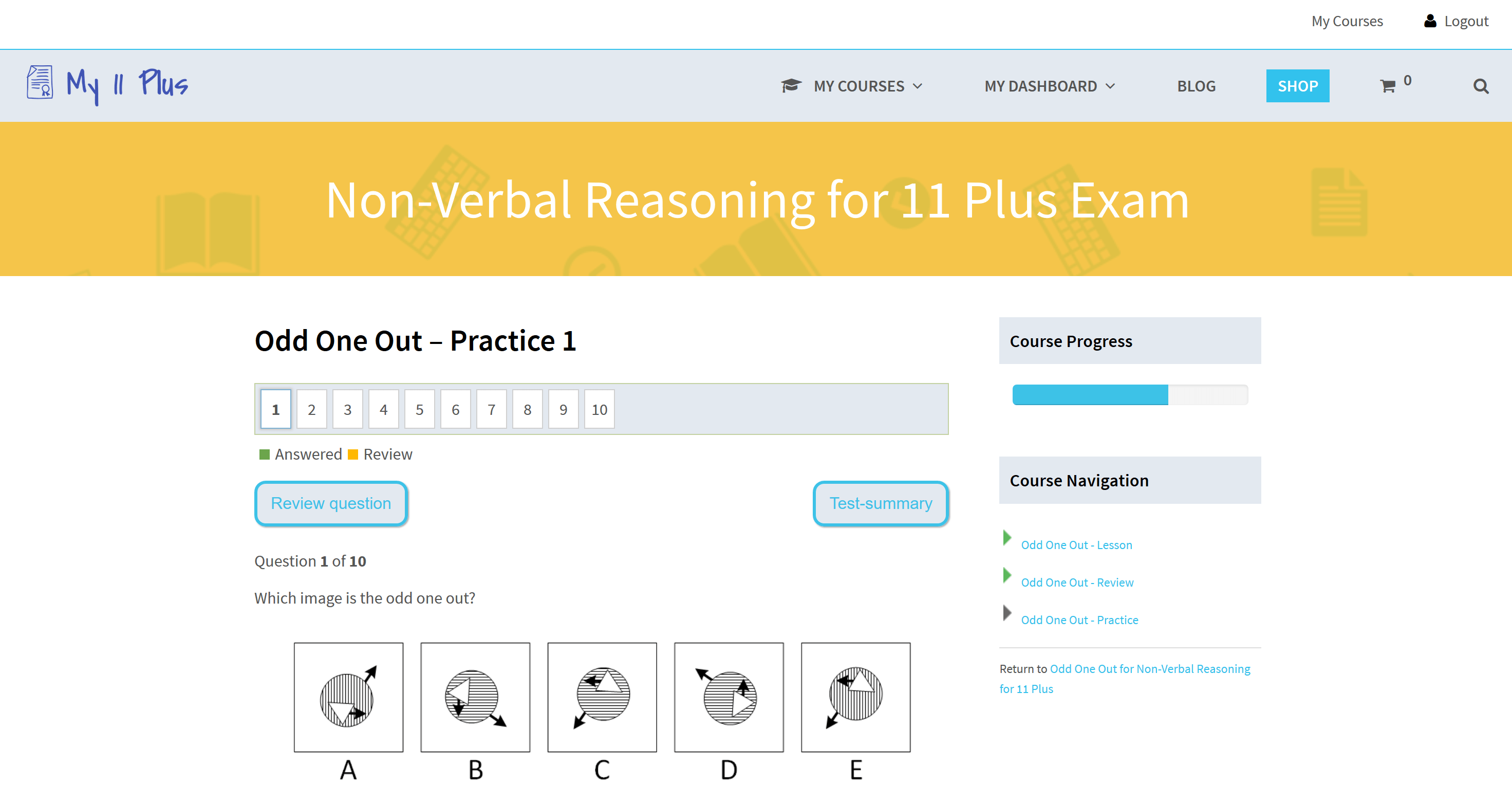 11 plus exam preparation for Kent, Bucks, Lincs