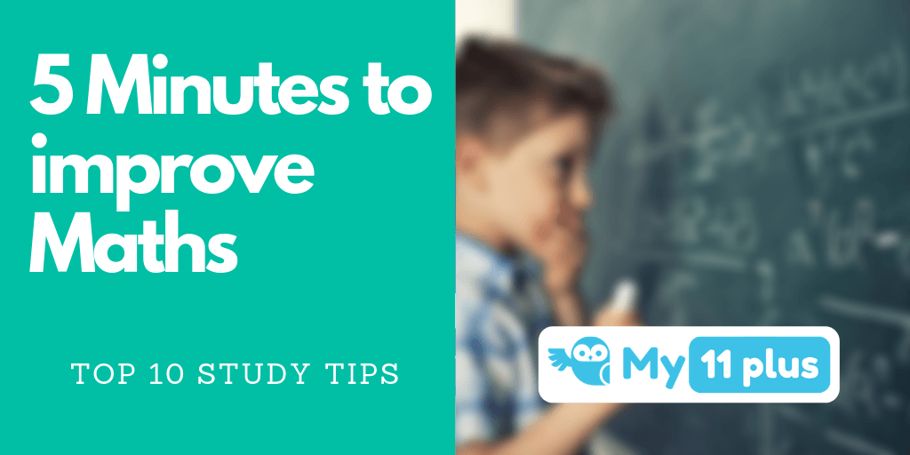 Improve Your Child's Maths In 5 Minutes
