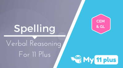 Best courses for 11 Plus exam Verbal Reasoning Spelling