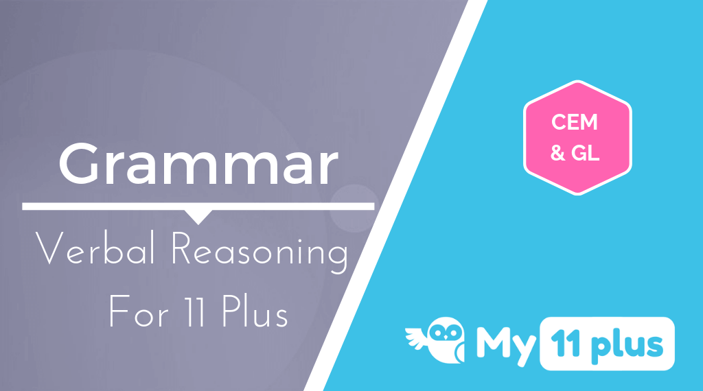 Best Courses For 11 Plus Exam Verbal Reasoning Grammar