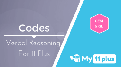 Best courses for 11 Plus exam Verbal Reasoning Codes