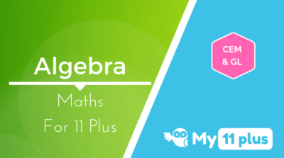 Best courses for 11 Plus exam Maths Algebra
