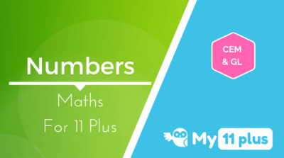 Best courses for 11 Plus exam Maths Numbers