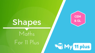 Best courses for 11 Plus exam Maths Shapes