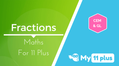 Best courses for 11 Plus exam Maths Fractions