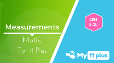 Best courses for 11 Plus exam Maths Measurements