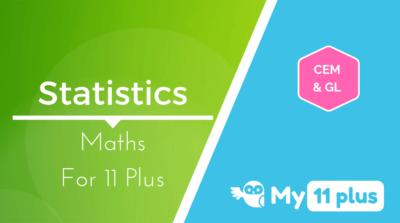 Best courses for 11 Plus exam Maths Statistics