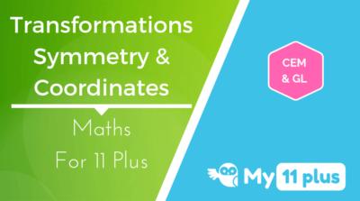 Best courses for 11 Plus exam Maths Transformations