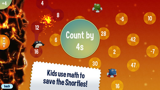 Maths apps for the 11 Plus - Jump Number
