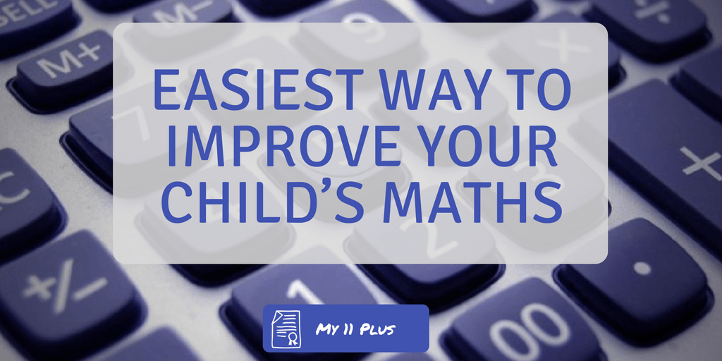 improve maths for 11 plus exam